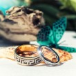 Stockfoto: Gold wedding rings