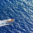 Motor boat in the Ionian sea — Stock Photo #26451439