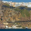 Stock Photo: Overview on Firin Santorini