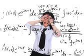 Matematik öğretmeni — Stok fotoğraf
