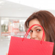 Shopping at the shopping mall — Stock Photo #2764275