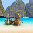 Maya bay Phi Phi Leh island — Stock Photo