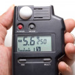 Photographic light and flash meter — Stock Photo #27831089