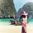 Stock Photo: Maya bay Phi Phi Leh island