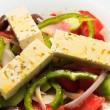 Stock Photo: Greek salad, in closeup.