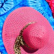 Stock Photo: Sarong and straw hat