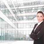 Portrait of a business woman — Stock Photo #2816751