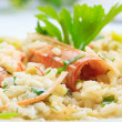 Risotto at the restaurant — Stock Photo