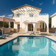 Luxurious villa with pool — Stock Photo #28224575