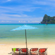 Paradisiac beach of Koh Phi Phi — Stock Photo