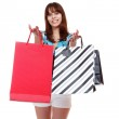 Shopping pretty woman — Stock Photo #2929978