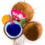 Fresh coconut cocktail — Stock Photo #29966191