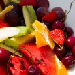 Fruit salad close up — Stock Photo