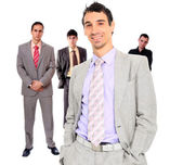 Vier personen-business-team — Stockfoto
