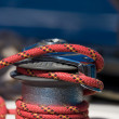 Постер, плакат: Sailboat Winch and Rope Yacht detail