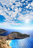 Aerial view on Zakynthos — Stock Photo