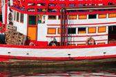 Małych rybackich łodzi w tajlandii — Zdjęcie stockowe