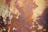 Rusty metal plate — Stock Photo