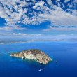 Aerial view on Zakynthos Greece — Stock Photo #31474489