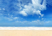 Beautiful Paradisiac beach — Stock Photo