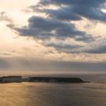 View on Zakynthos island from Gerakas — Stock Photo #32300273