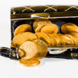 Purse with gold coins — Stock Photo #32698563
