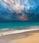 Beach on the Ionian island of Lefkas — Stock Photo