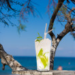 Cocktail on the beach — Stockfoto