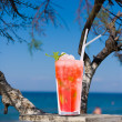 Cocktail on the beach — Stock Photo