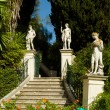 Stock Photo: Achillion Palace on island of Corfu.