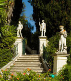 Achillion Palace on the island of Corfu. — Stock Photo