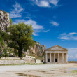 The old castle of Corfu island — Stock Photo