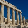 Parthenon temple in Acropolis at Athens, Greece — Stock Photo #33496459