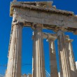 Parthenon temple in Acropolis at Athens, Greece — Stock Photo
