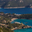 Bay of Palaiokastritsa in Corfu — Stock Photo