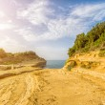 Canal D'amour beach,Corfu island — Stock Photo