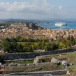 View on Corfu town — Stockfoto