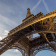 Stock Photo: Eiffel tower in Paris