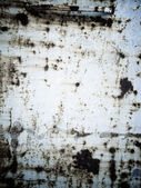 Old rusty metal plate heavily aged — Foto Stock