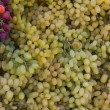 Grapes at the market — Stock Photo