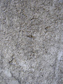 Closeup fragment of stucco wall of a building — Stock Photo