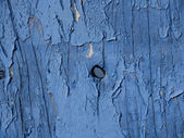 CRACKED PAINT ON WOOD — Stock Photo