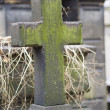 Old nameless tombstone in cemetery — Stockfoto #36962201