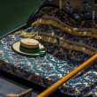 Focus on gondola's hat in venice — Stock Photo #37107605