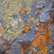 Rusty metal panel — Stock Photo