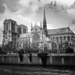 Notre Dame de Paris Cathedral — Stock Photo
