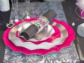 Dinning table set — Stock Photo