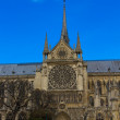 Stock Photo: Notre Dame de Paris Cathedral