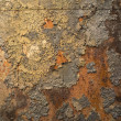Stock Photo: Rusty metal panel
