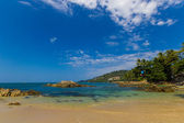 Patong beach in phuket island — Stock Photo